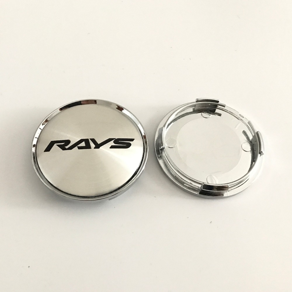 63MM RAYS Logo Sticker Wheel Center Cap OZ Hub Caps Wheel Cover - Reservdelar och bildelar - Foto 6
