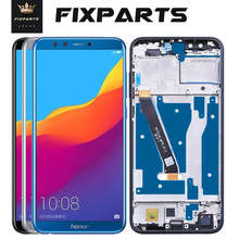Original de la pantalla para el Huawei Honor 9 Lite pantalla LCD pantalla táctil para Huawei Honor9 Lite LCD con marco Honor 9 Lite LLD L31 L22A
