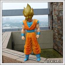 42cm Super Large Dragon Ball Model Fourth Generation Son Goku Action Figure Goku Vinyl Doll for Children Gift