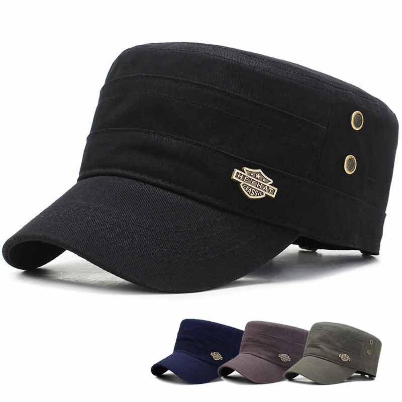 2019 Army Vintage Newsboy Cap Men Retro Flat Hats Cap Women Baker Casual Spring British Classic Female Gatsby