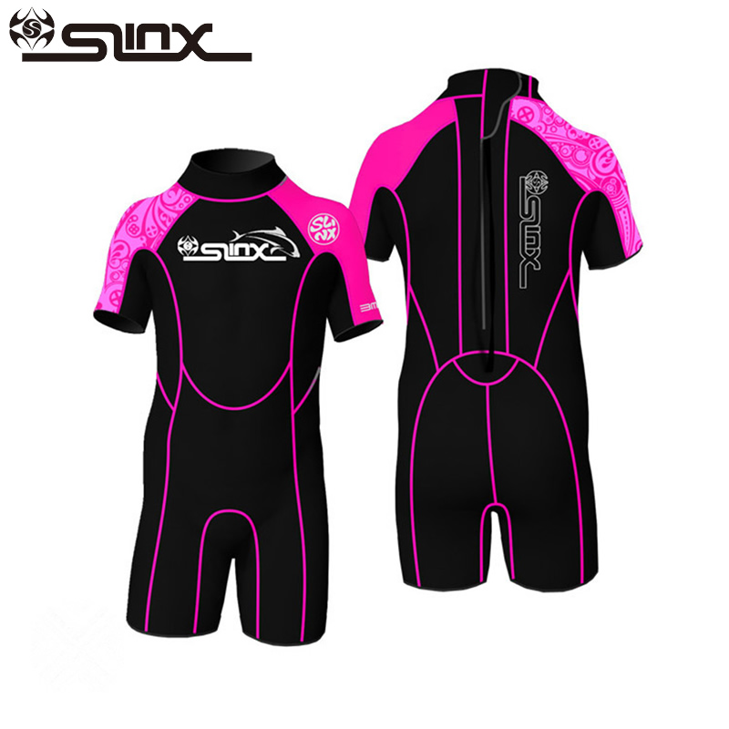 SLINX Kids 2mm Neoprene Wetsuit Boys Girls Shory One-Piece Scuba Diving Swimsuits Snorkeling Surfing Watersports Playing ClothesSLINX Kids 2mm Neoprene Wetsuit Boys Girls Shory One-Piece Scuba Diving Swimsuits Snorkeling Surfing Watersports Playing Clothes
