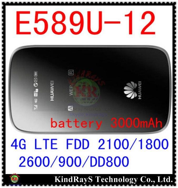 Débloqué E589 4g lte 3g mifi routeur Huawei E589u-12 LTE 4g wifi routeur poche 3g 4g lte mifi dongle pk e5573 e5776 e5372 e5577