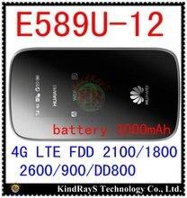Unlocked E589 4g lte 3g mifi router Huawei E589u 12 LTE 4g wifi router pocket 3g