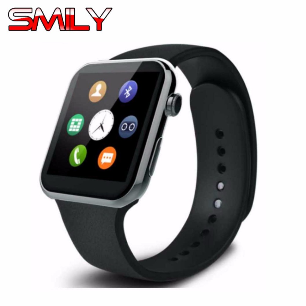 2017 Best A9 Smartwatch Bluetooth Smart Watch for Apple iPhone Android Smartphones Intelligent Clock Wearable Devices Wristwatch