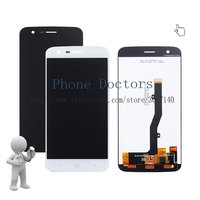 5 0 Full LCD DIsplay Touch Screen Digitizer Assembly Replacement For ZTE Blade V8 Lite Black