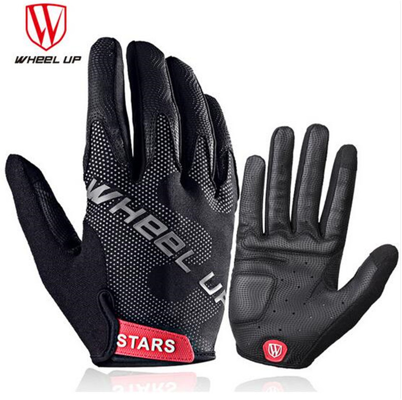 Shockproof Cycling Gloves Winter Full Finger MTB Mountain Bike Bicycle Gloves M
