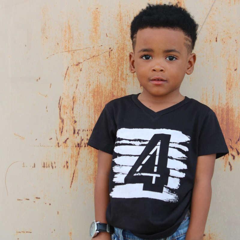 e5c3b6e378dae New Summer T-Shirt for Children Baby Girl Boys Clothes Kids Baby 1 2 3 4  Years Birthday t shirt Girl Tops Tees Little Boy Shirts