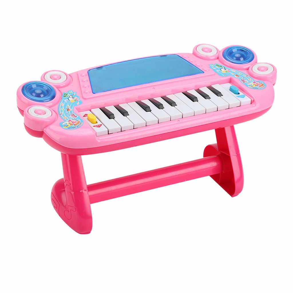 Multifungsi Elektronik Piano Musik Awal Belajar Pendidikan Mainan untuk Anak-anak Pendidikan Mainan Pesta Lagu Mainan Pendidikan M1224