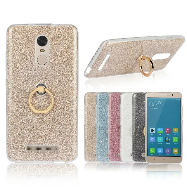 Soft Phone Cover Case On The for Xiaomi Note 3 4C 4S 5 5S Plus redmi 2 3 3S 3X 4 Note 2 3 4 Luxury High Quality With Ring Buckle ...