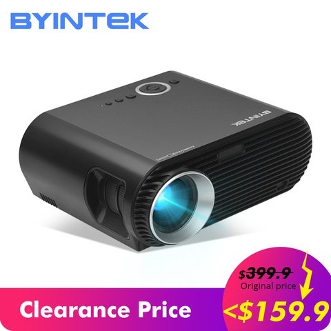 159.99$ Clearance Sale BYINTEK Brand BL127 Cinema Game full HD LCD LED Video Projector GP100,F40 Pakistan