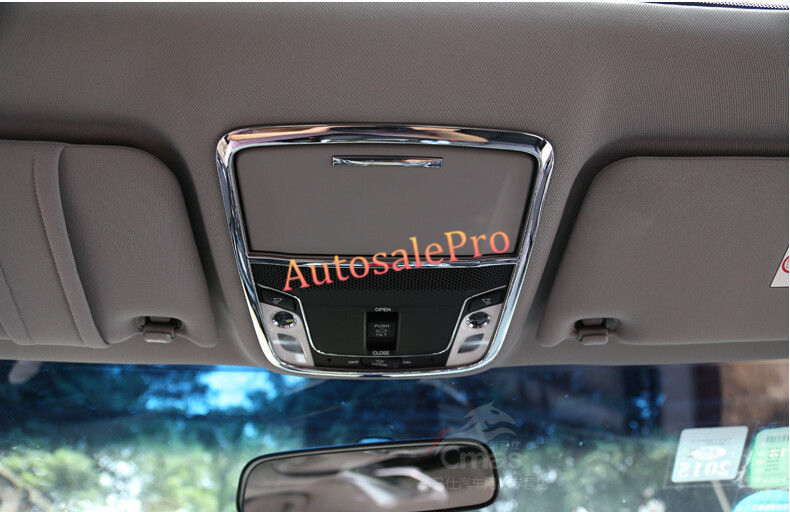 Abs chrome sunroof interior front roof dome map light - 2015 honda accord interior illumination ...