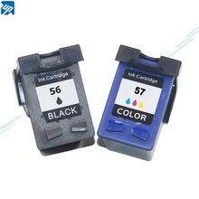 Фирменный цветной струйный картридж для принтера HP56 57 C6656A C6657A для DJ 450/450cbi/450ci/450wbt