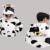 Regalo de Año nuevo Invierno Hombres Mujeres Pijama Pijama 2016 ropa de Noche Pijama de Franela Animal de La Historieta Estilo Panda Onesies Venta Caliente