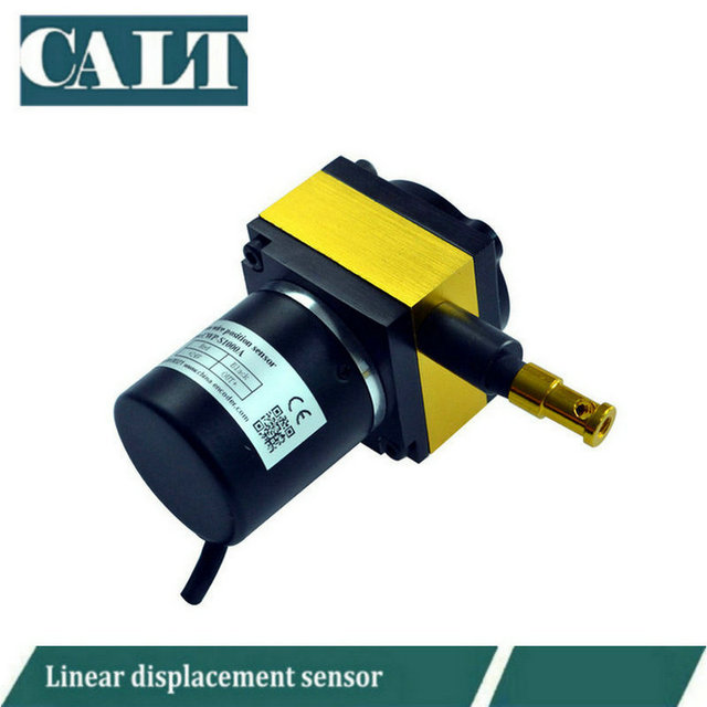 CALT cable pull Draw Wire encoder string pots 1000mm measuring wire ...