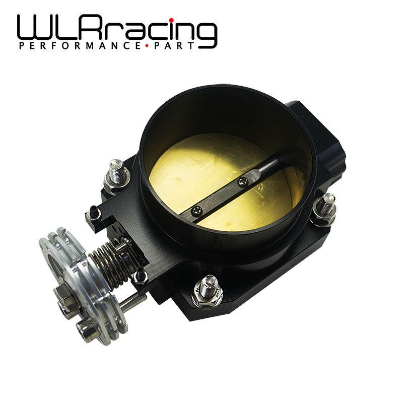 WLR RACING BLACK 80MM Q45 THROTTLE BODY Intake Manifold FOR nissan RB25DET RB26DET RB20DT GTS WLR6943BK
