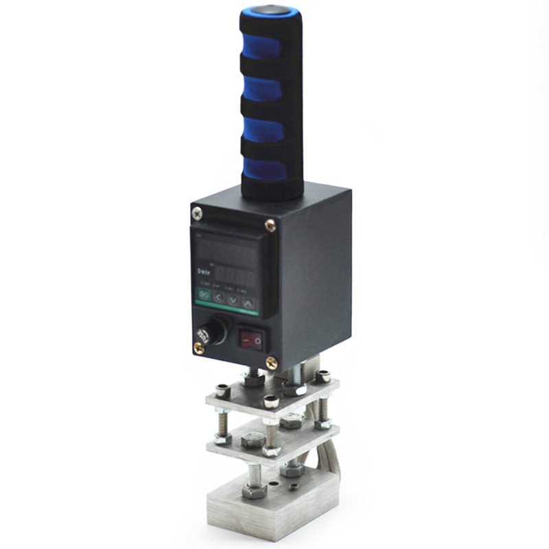 Machine d'estampage à chaud Machine d'impression de timbre à chaud de poche marque imprimante en cuir gaufrage LOGO marque Machine de pressage 110V