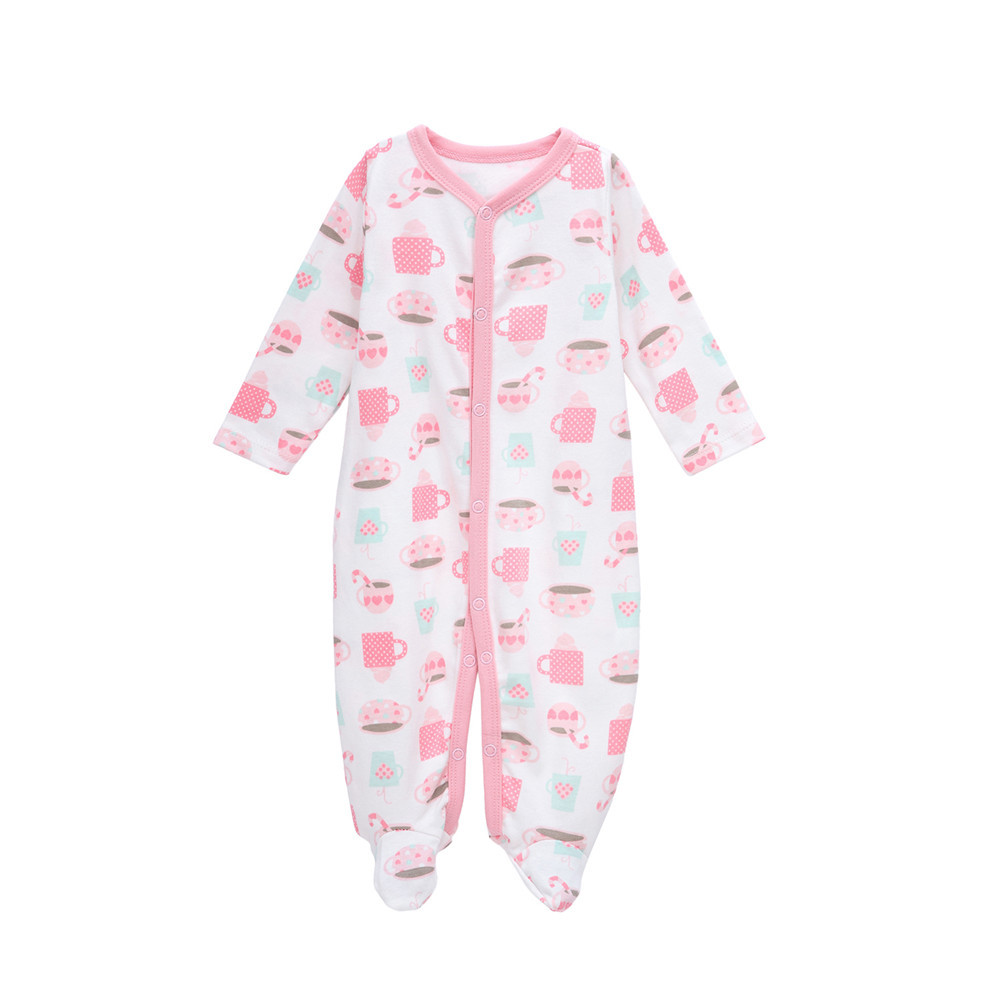 SexeMara Baby Girl Clothes Cute Cartoon 100% Cotton Long Sleeve 0-12M Infant Costumes Baby Romper baby rompers with letters newborn baby girl rompers cute cartoon animal print clothes cotton long sleeve clothing set infant costumes baby boys clothes