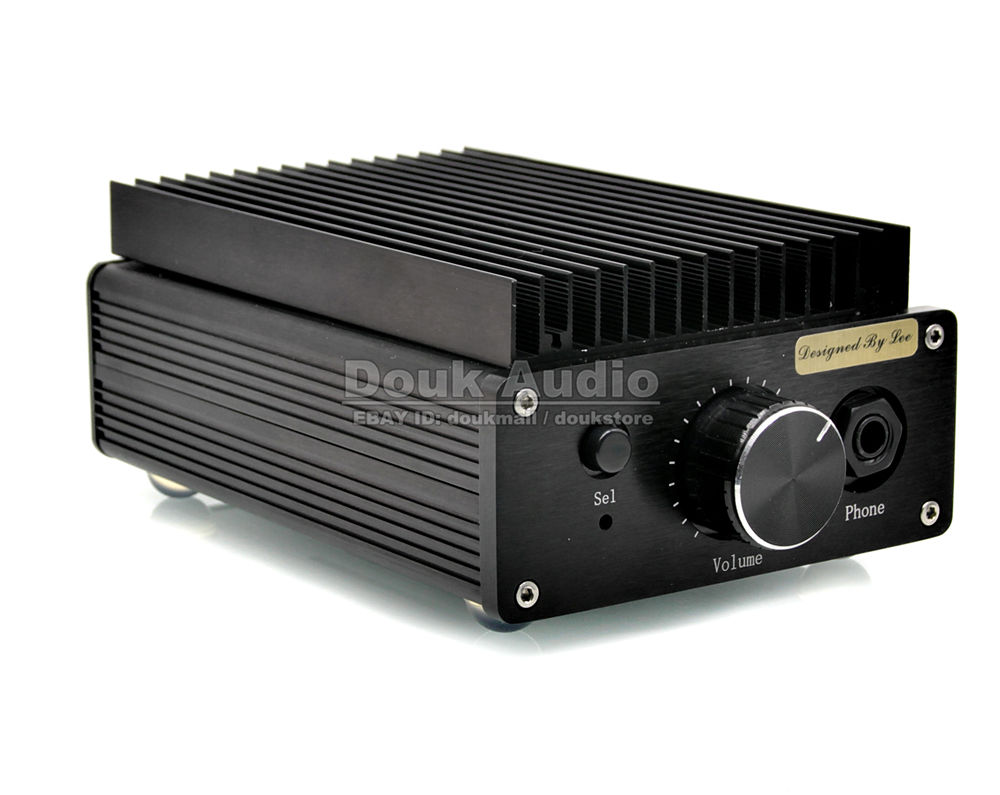 2018 New Nobsound Mini HD1969 Pure Class A Desktop Stereo Amplifier HiFi Headphone Amp With 100W High-power adapter