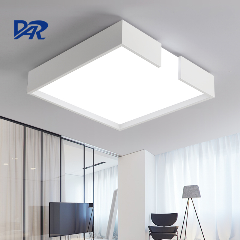 Free Shipping Surface Mounted Led Ceiling Lights Fixtures 18W/32W/40W High Brightness Square Ceiling Lamp Luminarias Para Sala