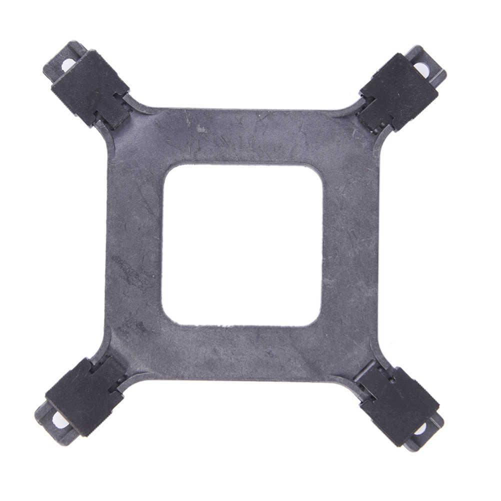 1 قطعة وحدة المعالجة المركزية البلاستيك المبرد مروحة قوس الخلفية للوحة إنتل 775