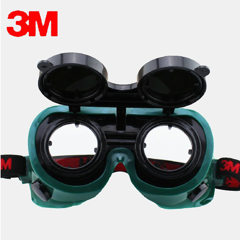 3M 10197 Safety Potective Welding Goggles Glasses IR 5.0 Scratch-resistant Anti-UV coating Genuine working eyes protective недорго, оригинальная цена