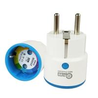 Z Wave Sensor Smart Home EU Power Plug Socket Compatible With Z Wave 300 Series And