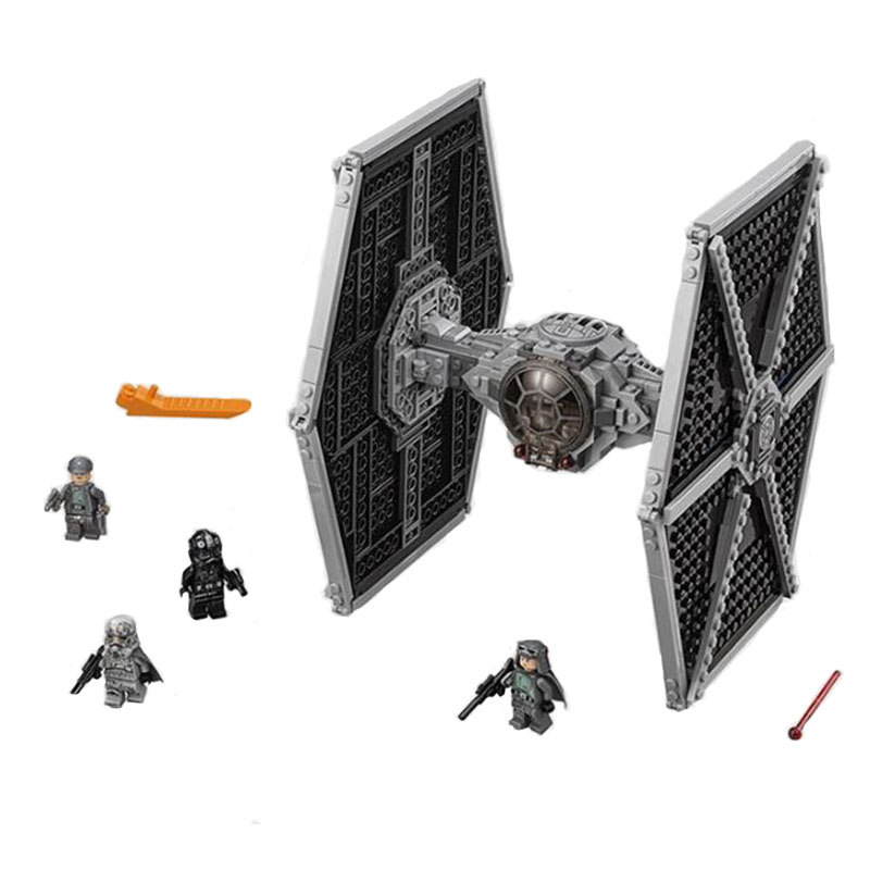 Bela 10900 Star Wars Imperial TIE Fighter Building Blocks 550pcs Bricks Toys Compatible With Legoed 75122
