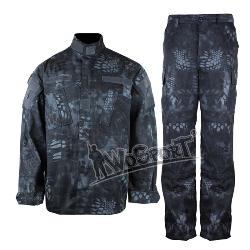 Outdoor ACU Military Camouflage Trainning Exercise Sets Ghillie Suits Army Combat Tactical Airsoft Hunting Ghillie Suit Clothing double fleece camo suits fabric jungle camouflage hunting clothing sets for hunter clothes