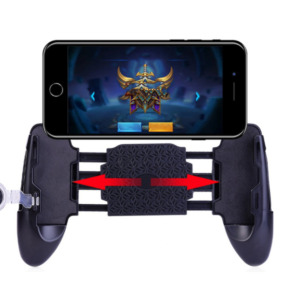 Adjustable Mobile Phone Game Pad Durable Mobile Joystick Universal Game Shooter Trigger Portable ABS Phone Gamepad