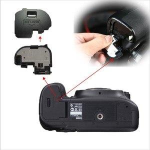 Image 1 - 10pcs/lot Battery Door Cover for canon 550D 600D 5D 5DII 5DIII 5DS 6D 7D 40D 50D 60D 70D Camera Repair