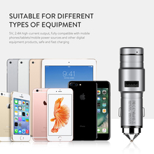 Baseus Bluetooth Earphone Intelligent Car Charger