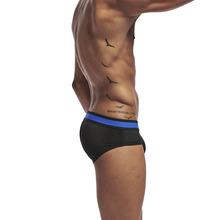 Nowy czarny styl siatki BSHETR marka Sexy mężczyzn bielizna męska majtki męskie slip cueca męskie majtki męskie Pennis gejów bielizna męska tanie tanio Figi Mężczyźni COTTON Stałe Male Lowwaisted Plain Hip Health Fitness Antibacterial Abdomen Buttock M L XL XXL XXL