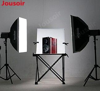 Godox flash lumière 200 w lampe photographie studio costume studio softbox vêtements modèles lumière tente pour C N DSLR CD15