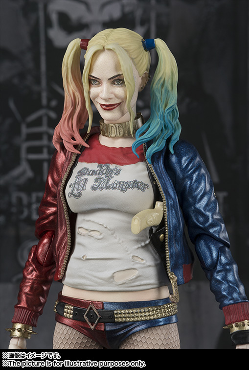 SHFiguarts SHF DC Suicide Squad Harley Quinn BJD Action Figures Toys for Girls Christmas Birthday Gift album of the year виниловая пластинка