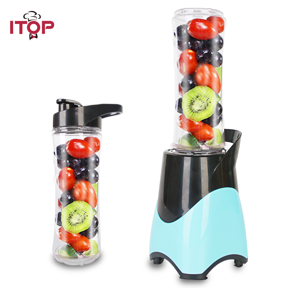 ITOP Mini Portable Juicer Blender For Travel vegetables fruit Orange Lemon Squeezers Electric Citrus Juicers fruit orange lemon opener peeler zester citrus fruit skin remover finger type