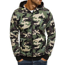 2019 Camouflage Hoodies Men Sweatshirt ชาย Camo Hoody Hip Hop ฤดูใบไม้ร่วงขนแกะทหาร Cardigan Hoodie PLUS ขนาด XXXL