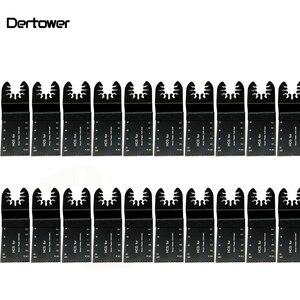 Image 1 - 20 sztuk wielofunkcyjny bi metal precyzyjne brzeszczot narzędzie wielofunkcyjne oscylator brzeszczoty do pił do renowacji moc cięcia Multimaster narzędzia