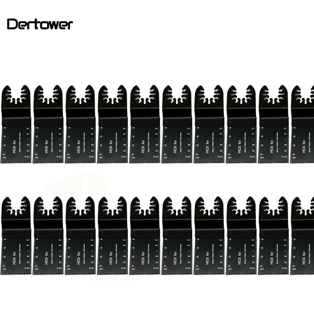 20 sztuk wielofunkcyjny bi metal precyzyjne brzeszczot narzędzie wielofunkcyjne oscylator brzeszczoty do pił do renowacji moc cięcia Multimaster narzędzia