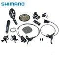 Shimano slx m7000 ciclismo bicicleta groupsets 22-speed 170mm manivela peças de bicicleta de montanha 11-40 t conjunto grupo