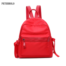 Nylon Backpacks High Quality Female Bags