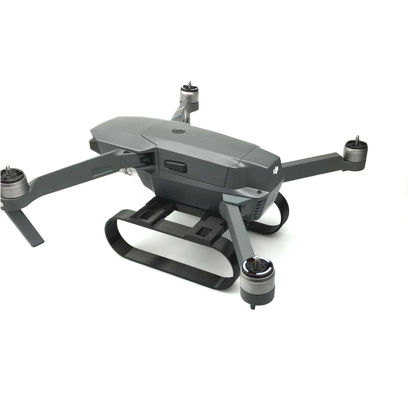 Landing Gear Landing Safe Bracket Camera gimbal protection with RF-V16 GPS Tracer Locator Holder for DJI MAVIC PRO 1 (7)