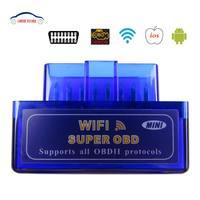 Best Quality ELM327 WIFI OBD2 OBDII EL M327 Coder Reader ELM327 V1 5 Super MINI WIFI
