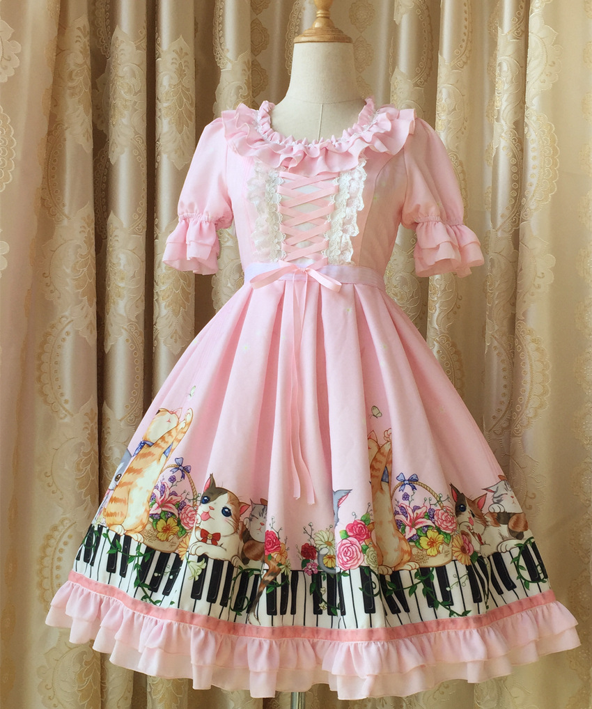 The new spring and summer 2016 lolita font b blouse b font OP the keys of