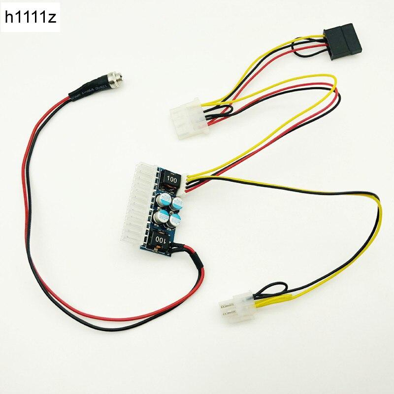 24pin DC ATX PSU 12V DC Input 160W Peak Output Switch DC-DC ATX Pico PSU MINI ITX PC Power Supply For Computer