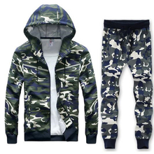 2019 New style Mens Big Size L-8XL sweat Suit Cool Style Hip Hop Camouflage Loose Clothes Men Sportsuit tracksuit