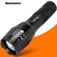 Телескопический Масштабируемые светодиодный фонарик 1000 люмен Полиция фонарик CREE XML T6 18650 Перезаряжаемые факел высокого Мощность супер ярки...