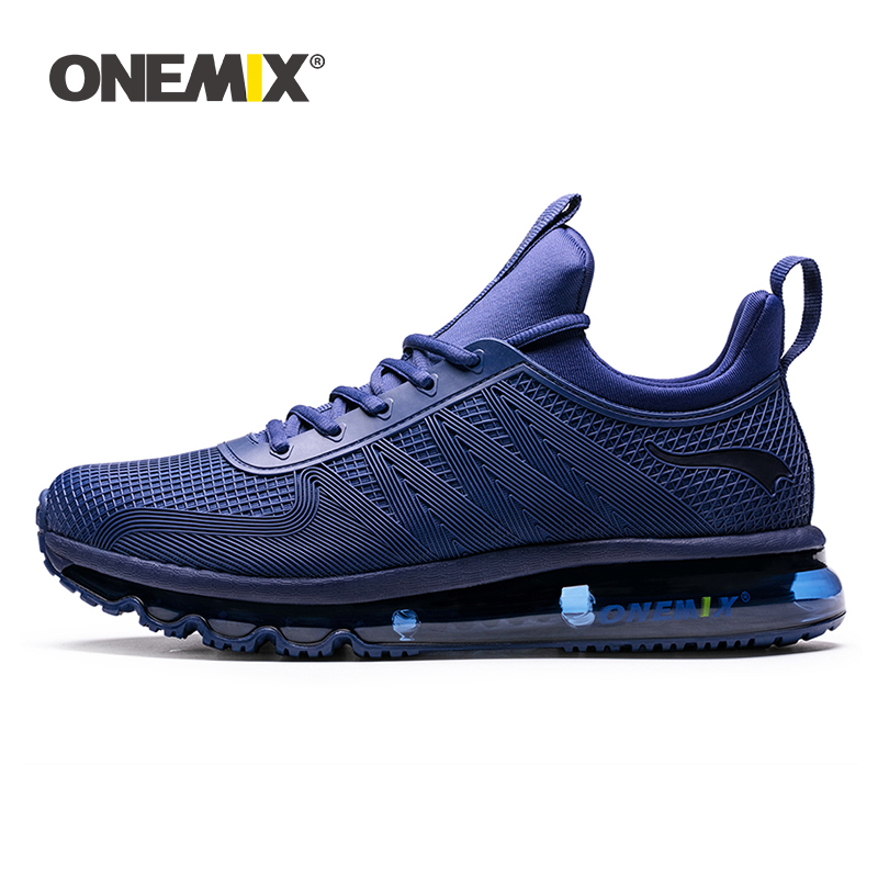 Onemix running shoes for men high top sports sneaker soft windproof All match deodorant sneaker for