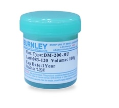 (1pcs/lot)(Accessories|Welding) DM-200-BU BURNLEY Solder Paste, For Reflow Soldering BGA (LEAD FREE), 100g
