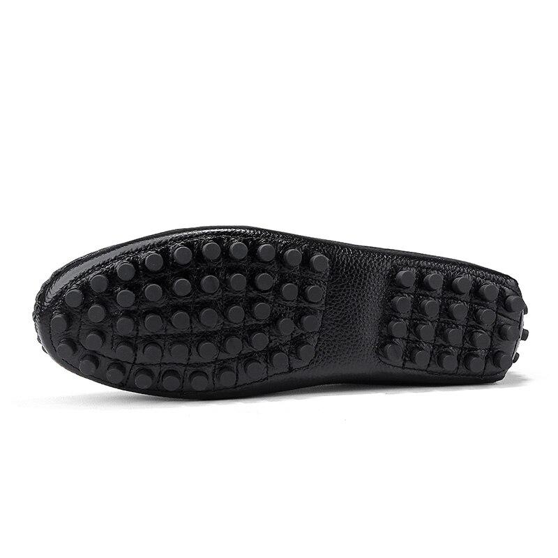 Anti Cuir Black white 2019 slip De Mocassins Hommes Décontractées Chaussures Offre Spéciale brown Nouveau Automne blue Printemps Conduite En qnxABO1xgw