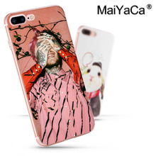 MaiYaCa Lil Peep Lil Bo Peep Luxury High-end phone Accessories Case for Apple iPhone 8 7 6 6S Plus X 5 5S SE XR XS XS MAX Cover